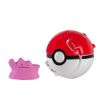 Pokémon Pokeball Throw 'n' Pop con Figura Ditto