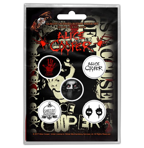 Chapita Alice Cooper - Design: Eyes