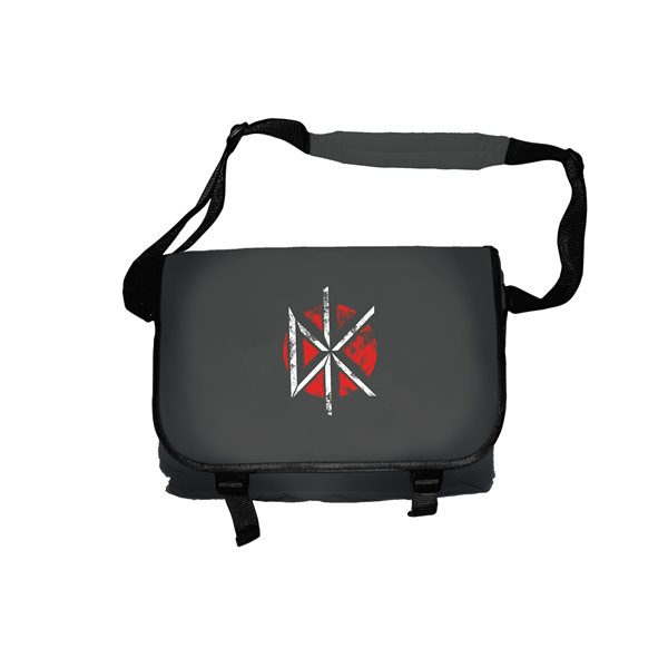 Bolso Messenger Dead Kennedys DISTRESSED LOGO