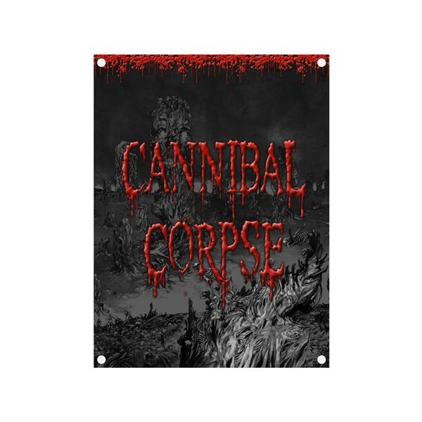 Bandera Cannibal Corpse SKELETAL DOMAIN