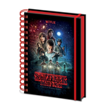Stranger Things Libreta A5 Wiro One Sheet