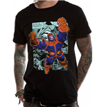 Camiseta Marvel Comics - Design: Thanos Comic Strip en negro