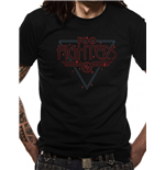 Camiseta The Foo Fighters - Design: Disco Outline