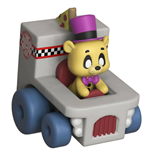 Five Nights at Freddy's Super Racers Diecast Figura Golden Freddy 5 cm