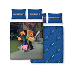 Minecraft Funda Nórdica Reversible Good Guys 200 x 200 cm / 48 x 74 cm
