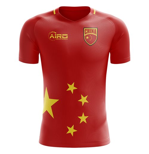 Camiseta China Fútbol 2018-2019 Home