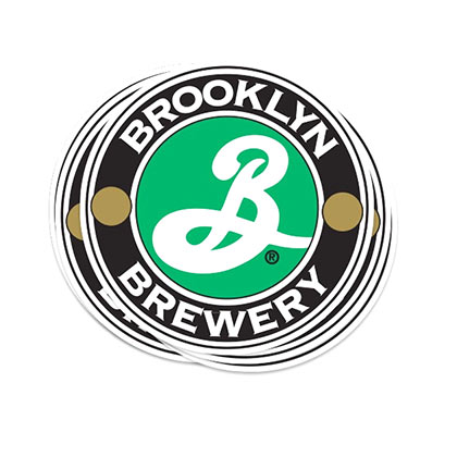 Pegatina Brooklyn Brewery