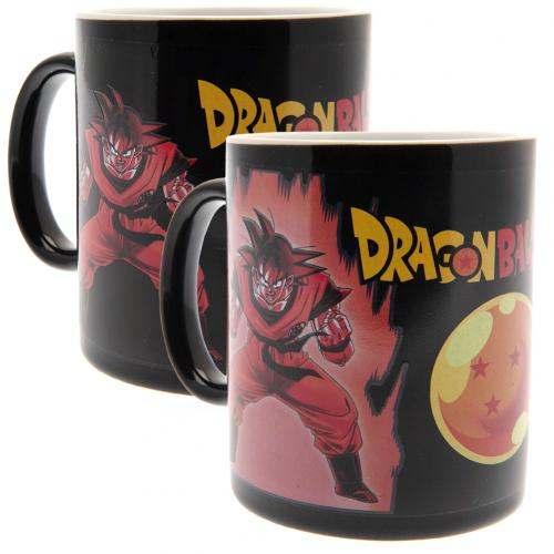 Taza Tasse Dragon Ball Z Heat Changing Mug