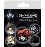 Death Note Pack 5 Chapas Characters