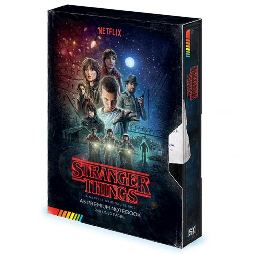 Libreta Stranger Things 336341