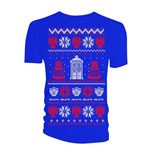 Camiseta Doctor Who de mujer - Design: Ugly Xmas Sweater