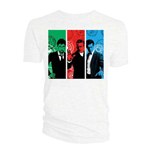 Camiseta Doctor Who de mujer - Design: Red, Green, Blue Doctors