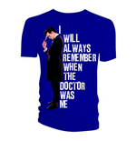 Camiseta Doctor Who de hombre - Design: I Will Always Remember When The Doctor Was Me
