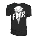 Camiseta 2000AD de hombre - Design: Judge Dredd Judge Fear Giant Badge