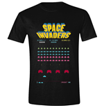 Camiseta Space Invaders : Game Screen Black (T-SHIRT Unisex )