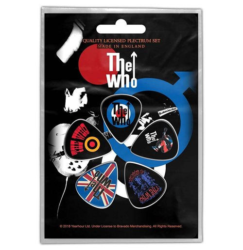 Púa The Who - Design: Pete Townsend