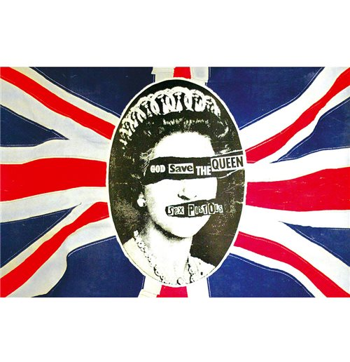 Póster Sex Pistols - Design: God Save The Queen