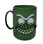 Rick y Morty Taza 3D Pickle Rick