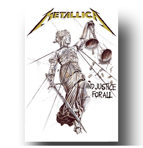 Póster Metallica - Design: And Justice for All