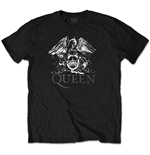 Camiseta Queen unisex - Design: Crest Logo (Diamante)