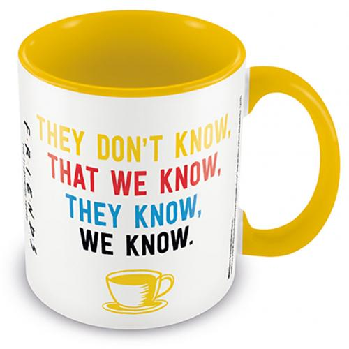 Taza Friends We Know