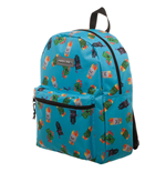 Minecraft Mochila Enemy Print