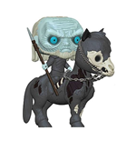 Juego de Tronos POP! Rides Vinyl Figura White Walker on Horse 15 cm