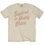 Camiseta Muddy Waters unisex - Design: Baptized