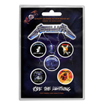 Chapita Metallica - Design: Ride the Lightning