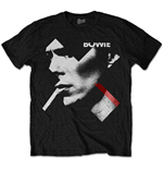 Camiseta David Bowie unisex - Design: X Smoke Red
