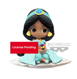 Disney Minifigura Q Posket Jasmine B Milky Color Version 9 cm