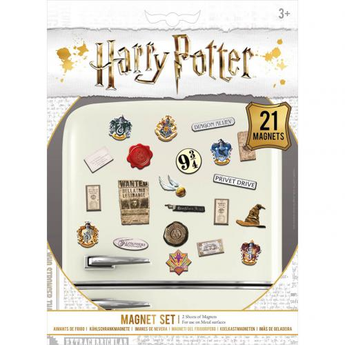 Imán Harry Potter set