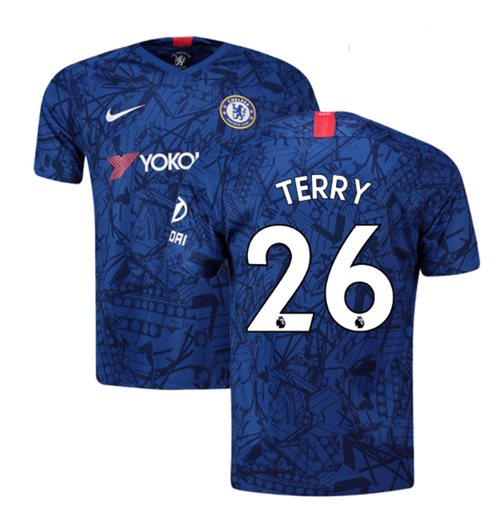 Camiseta Chelsea 2019-2020 Home (Terry 26)
