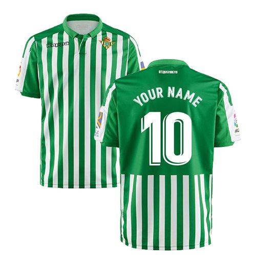 Compra Camiseta 2018/2019 Real Betis 2019-2020 Home personalizable