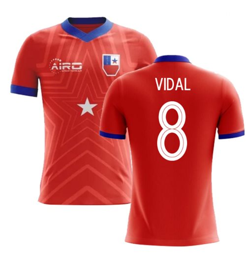 Camiseta Chile Fútbol 2018-2019 Home