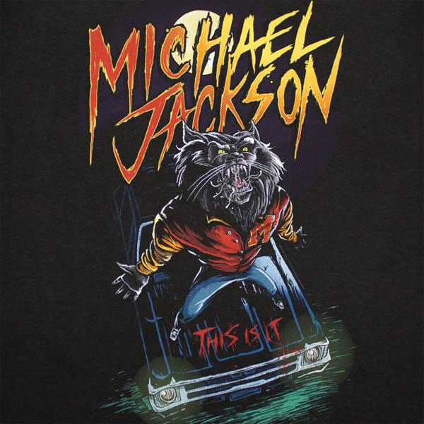 Compra Camiseta MICHAEL JACKSON Werecat Thriller Original 1780d38acd816