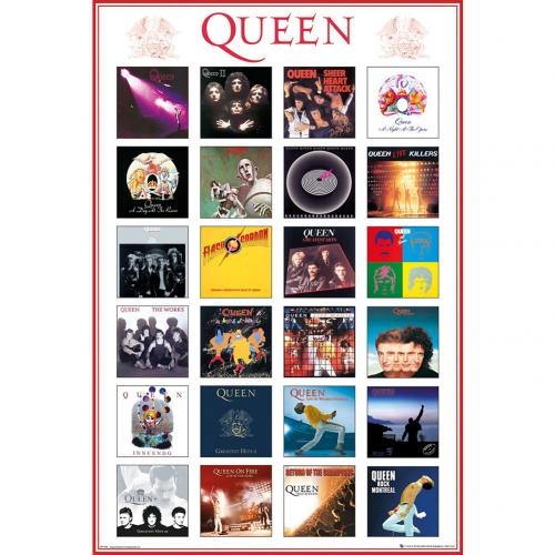 Póster Queen Covers 138
