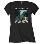 Camiseta The Beatles de mujer - Design: Abbey Road & Logo
