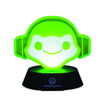 Overwatch lámpara 3D Icon Lucio 10 cm