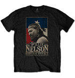 Camiseta Willie Nelson unisex - Design: Born For Trouble