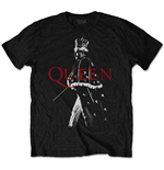 Camiseta Queen unisex - Design: Freddie Crown
