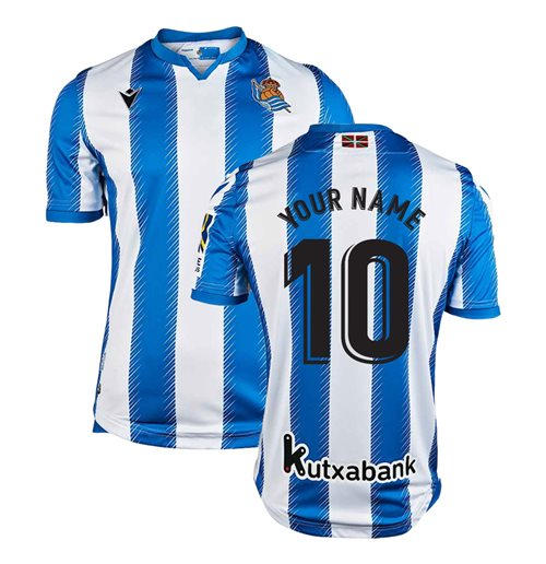 Camiseta 2018/2019 Real Sociedad 2019-2020 Home personalizable