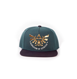 The Legend of Zelda Gorra Snap Back Green Hyrule