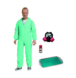 Muñeco De Acción Breaking Bad Jesse Pinkman Blue Hazmat