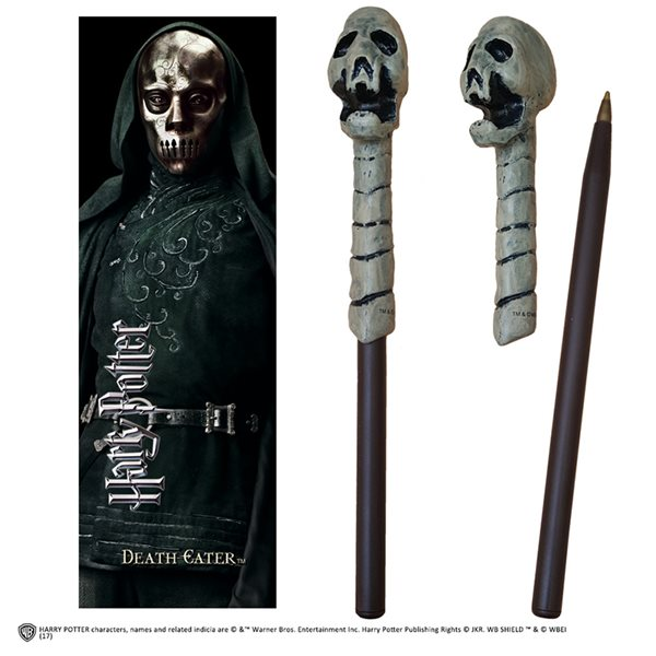 Bolígrafo Hp Death Eater Wand Pen And Bookmark