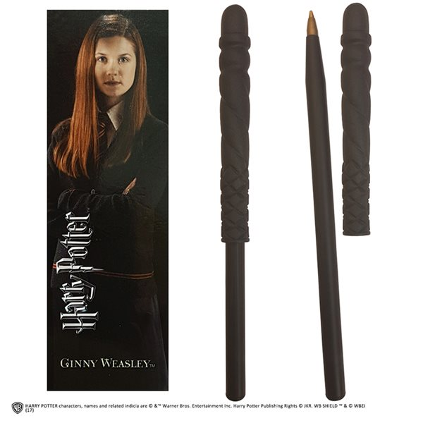 Bolígrafo Hp Ginny Wand Pen And Bookmark