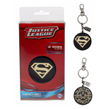 Llavero Jla Superman Golden Logo Metal Keychain
