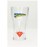 Gafas Superman Spinning Logo Soda Glass