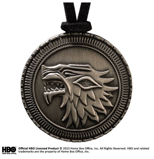 Colgante Game Of Thrones Stark Shield Pendant