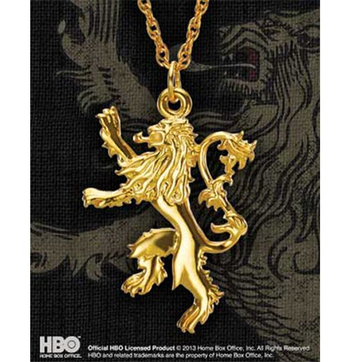 Colgante Game Of Thrones Lannister Pendant